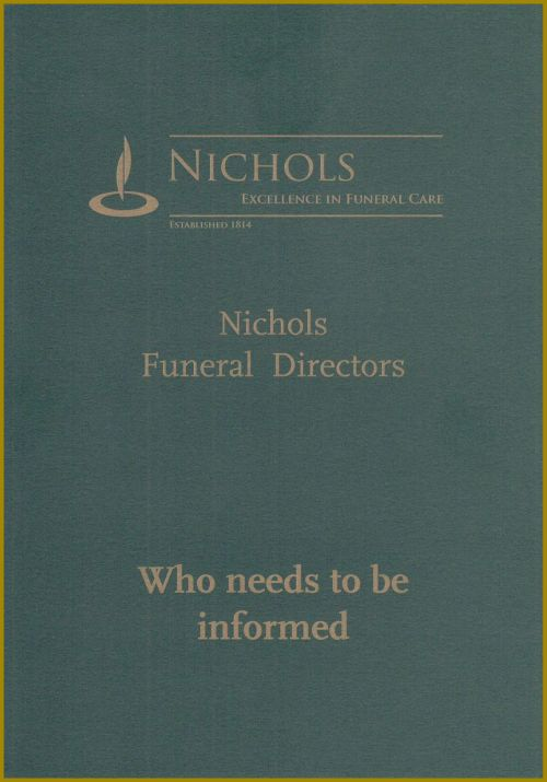 Nichols - Who Needs To Be Informed