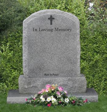 Headstone - Nichols Funeral Directors